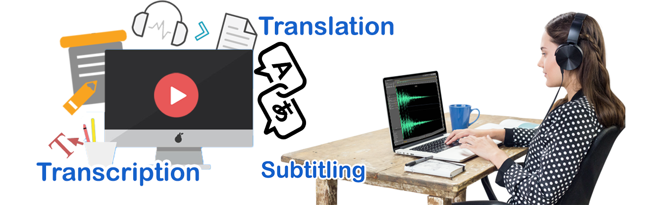 Transcription & Subtitling